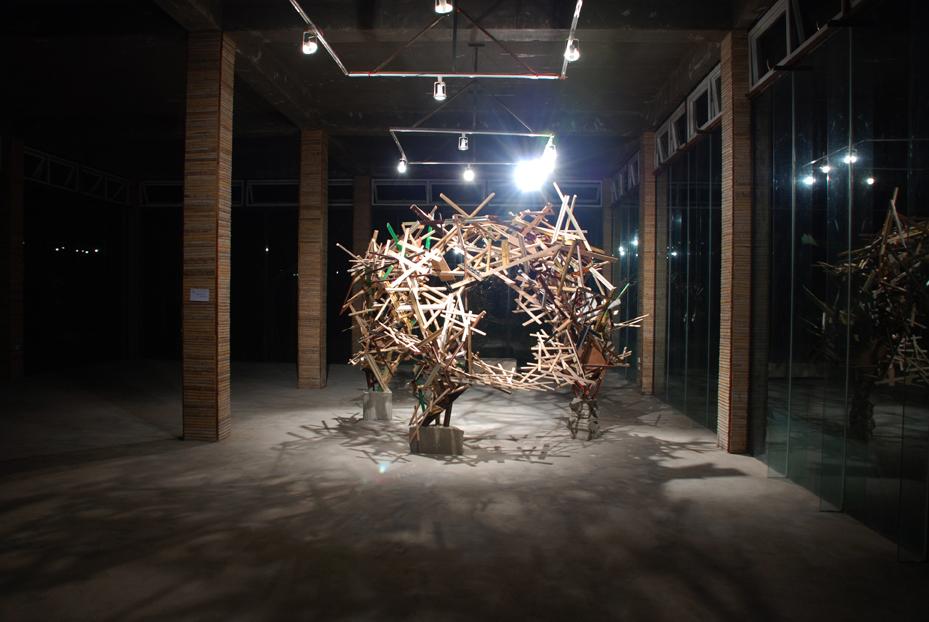 Karl Hofmann, Magic Sticks, 2011