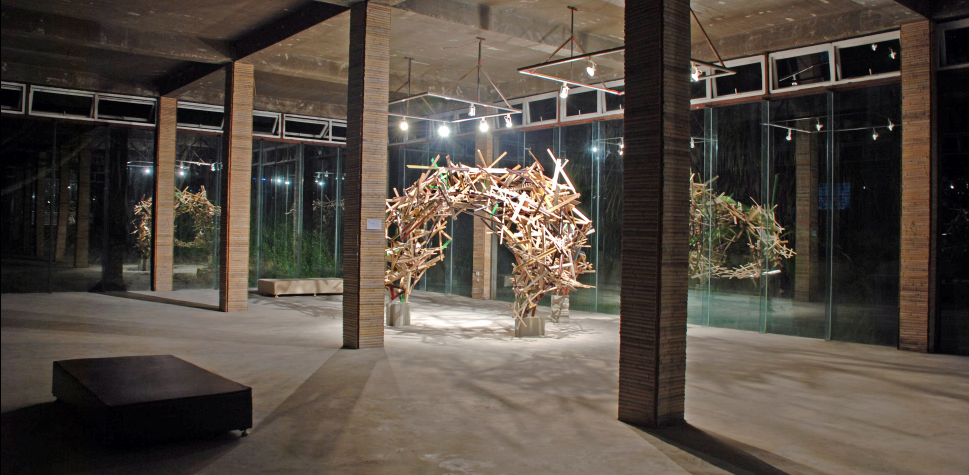 Karl Hofmann, Magic Sticks, 2011, Da Wang Cultural Highlands, Shenzhen, China